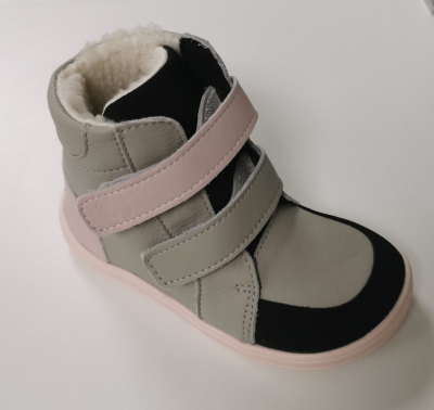 BABY BARE FEBO WINTER grey/pink č.23