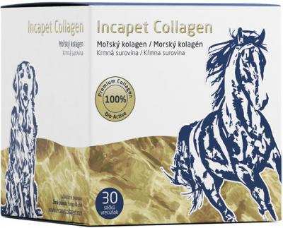 Incapet Collagen prášok vo vrecúškach 30 x 3 g