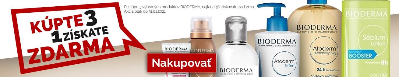 Bioderma 2+1 (najlacnejší zadarmo)